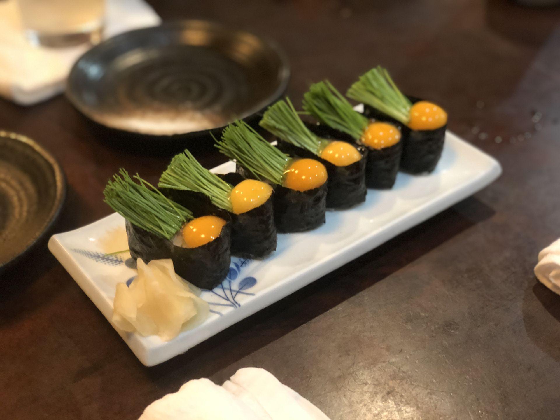 芽 ネギ 寿司 Sushi 寿司